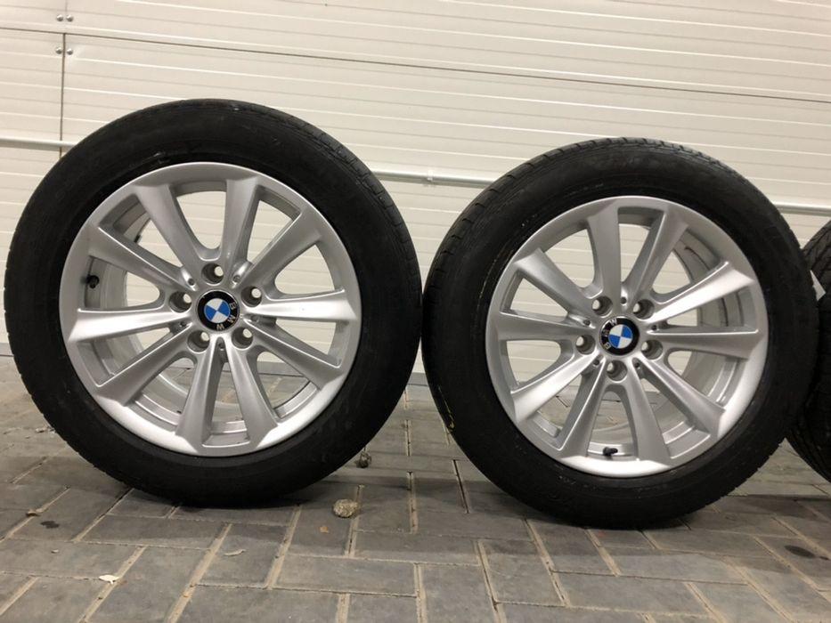 Koła felgi aluminiowe styling 236 BMW serii 5 3 1 6 +opony 225/55r17! Wałbrzych - image 1