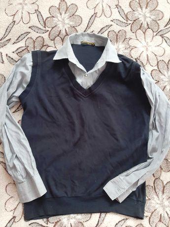 Джемпер рубашка на подростка