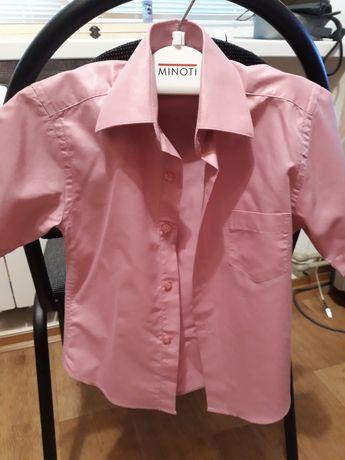 Детская рубашка шведка на мальчика 3-4 года