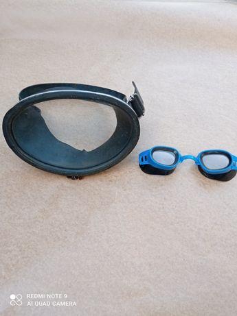 очки аквалангиста