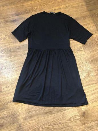 Чёрное вискоза платье