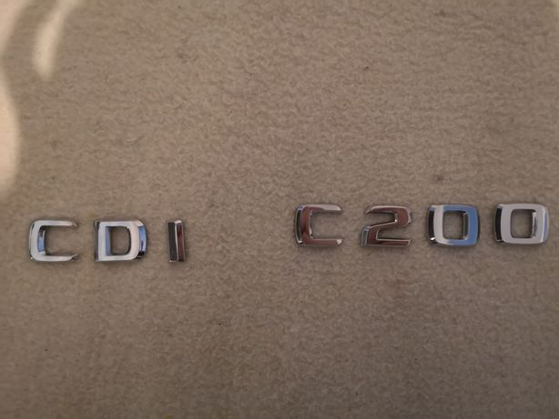 Letras Mercedes C200 CDI / audi / Bmw