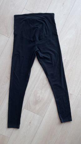 czarne legginsy ciążowe ciąża L 40