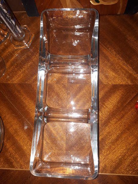 salaterka trójdzielna Krosno, 11x30x7 cm