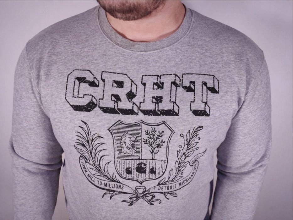 Свитшот Carhartt WIP CRHT (р. L) толстовка свитер big logo / Lacoste Миргород - изображение 1
