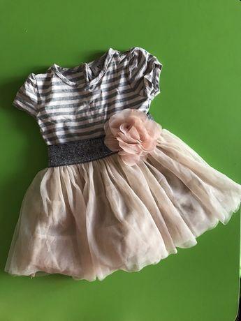 Платье, нарядное платье, праздничное платье Next 3-6 месяцев