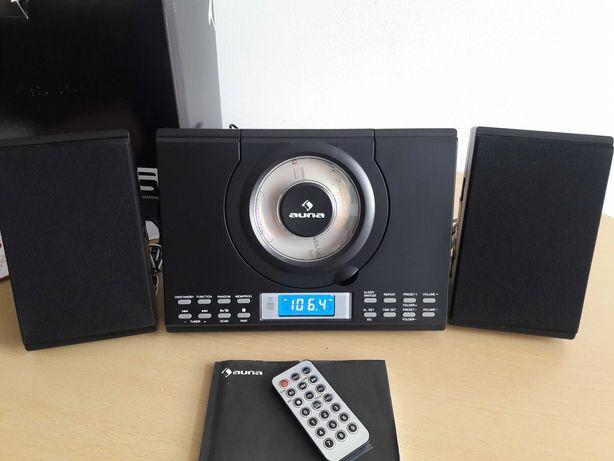 Okazja Wieża stereo Auna usb cd mp3