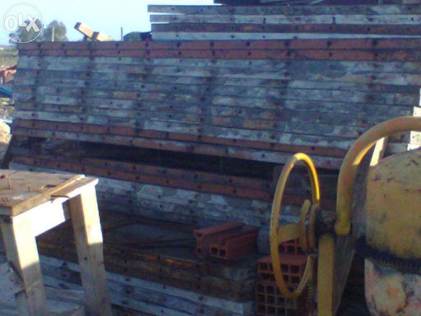 Pilar metalico cofragem