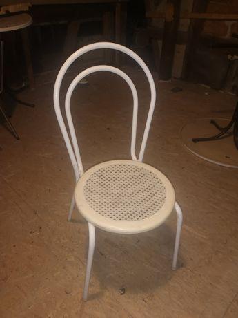 Krzesła stalowe, metalowe pub, pizzeria