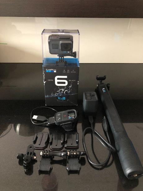 Okazja! GoPro HERO 6 BLACK - w fajnym zestawie