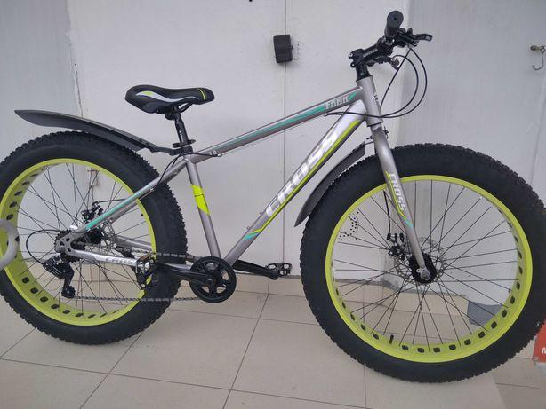 Новые велосипеды Фэтбайк Cross Tank