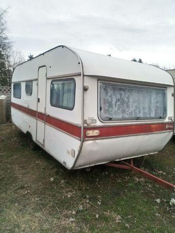 Przyczepa camping WILK 1987r ładna i duża
