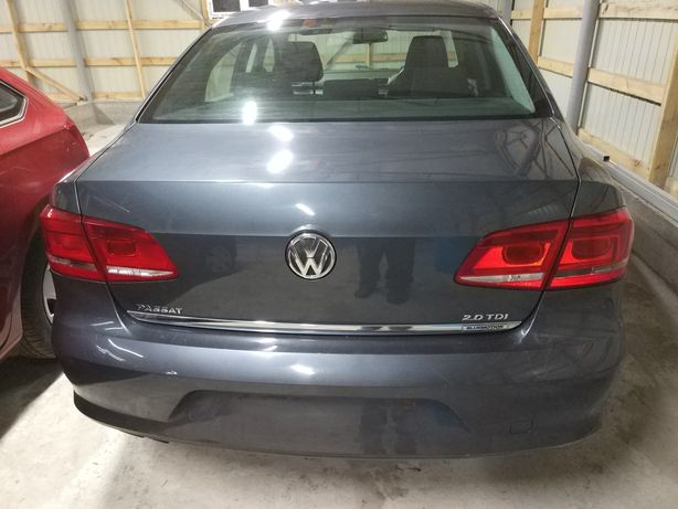 Задний бампер крышка багажника двери Volkswagen Passat b7 разборка