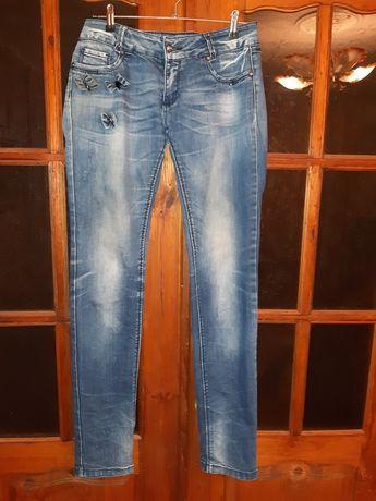 Женские Джинсовые брюки