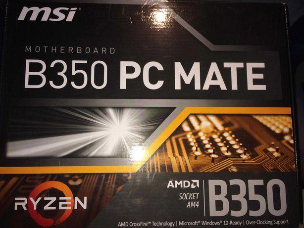 Sprzedam płytę główną MSI B350 PC Mate