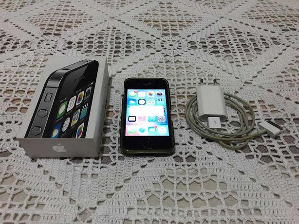 iPhone 4s 8gb preto bloqueado à MEO