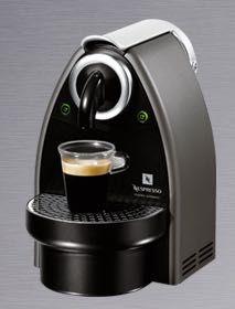Máquina de Café Nespresso Essenza Krups – Auto Titan (cinza escuro)