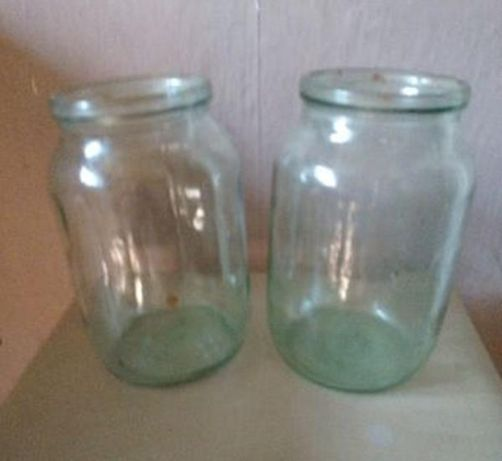 Банки стеклянные  3 литра