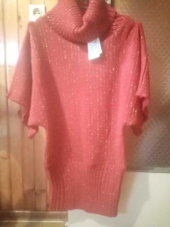 Sweterek  czerwony