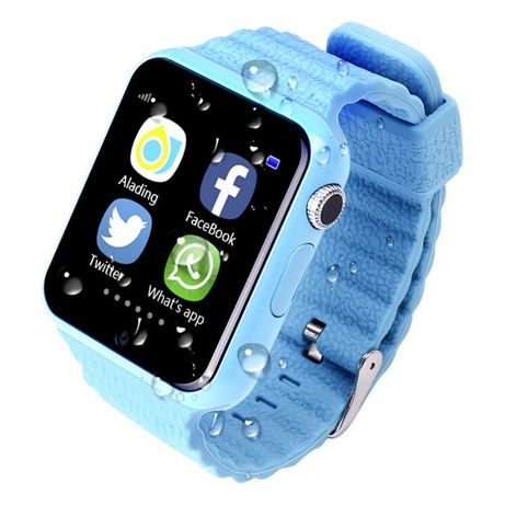 Smart Baby Watch Детские с GPS трекером смарт часы V7K, 350 мАч