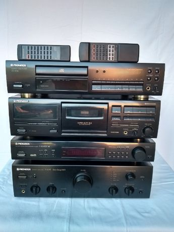 Pioneer A-405R F-304RDS PD-306 CT-S450S zestaw stereo