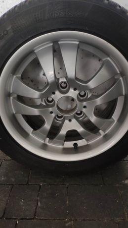 """Koła zimowe BMW 16"""" 5x120 ET34 7jx16 8 -7 mm stan bardzo dobry"""