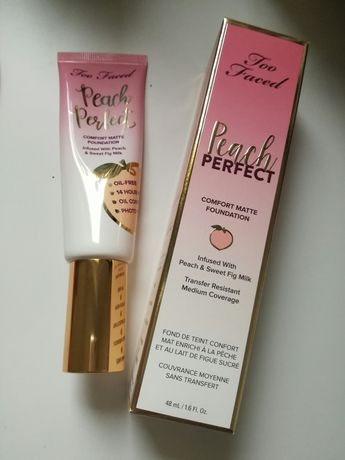 Podkład Too Faced Peach Perfect odcień natural beige
