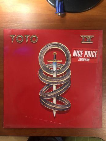 Toto IV виниловая пластинка