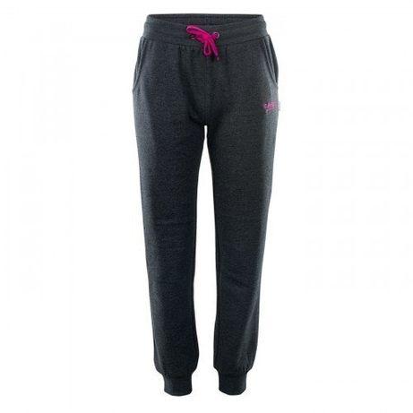 Hi-TEC nowe damskie spodnie dresowe lady melian - dark grey - rozm. S