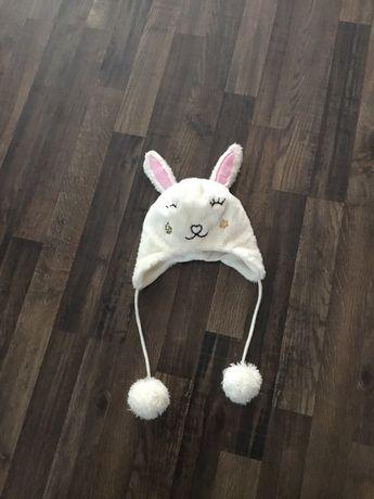 Czapka dziewczęca królik smyk cool club 40/42