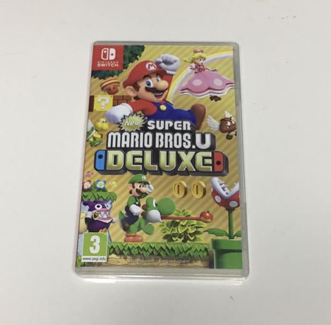 New Super Mario Bros U Deluxe Nintendo Switch completo