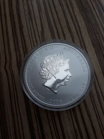 "Продам серебряную монету ""Год Крысы"""