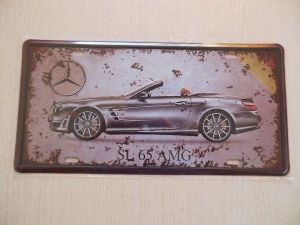 Tabliczka dekoracyjna Mercedes SL65AMG