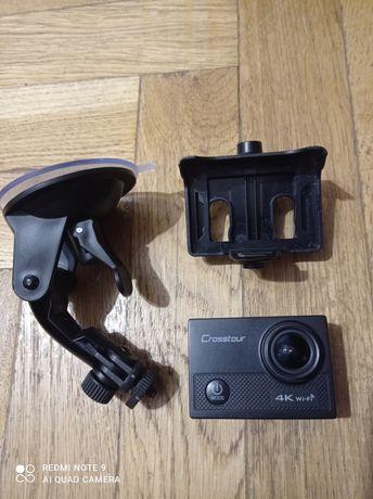 Екшн камера Crosstour wi-fi 4k видео + крепление