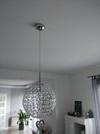 Żyrandol, lampa wisząca kula Piękna