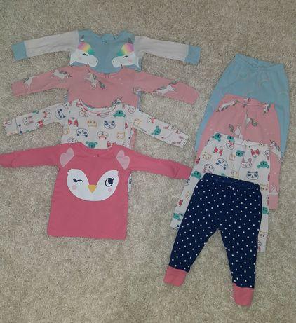 Набор пижамок + ромпер пижама костюм carters