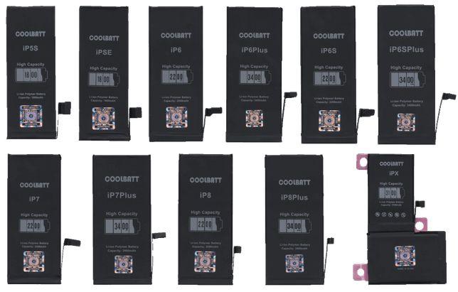 Батарея iPhone 5S,SE,6,6S,6Plus,6SPlus,7,7Plus,8,8Plus,X (ПІДСИЛЕНІ)