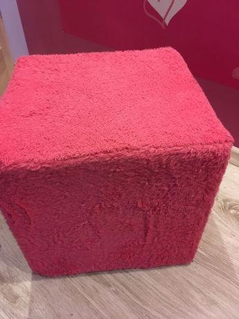 Śliczna Pufka różowa