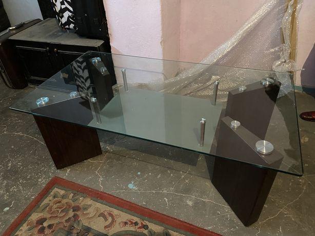 Duża ława szklana do salonu