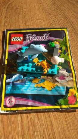 Zestaw LEGO friends + zestaw do robienia bransoletek