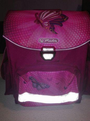 2 plecaki Plecak tornister dziecięcy szkolny HERLITZ + Cropp