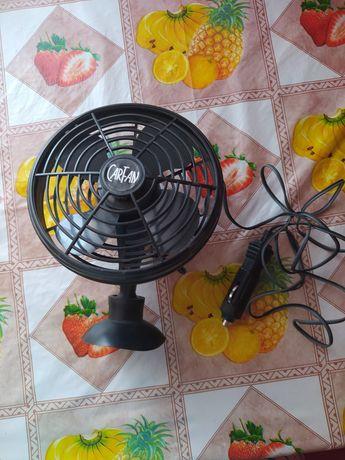 Вентилятор на прососке в прикуриватель