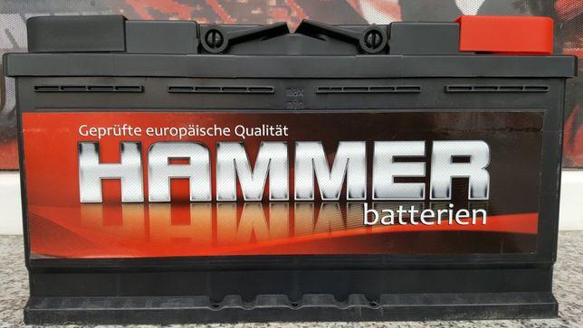 Nowy Akumulator HAMMER 100AH P+ 800EN Jawor