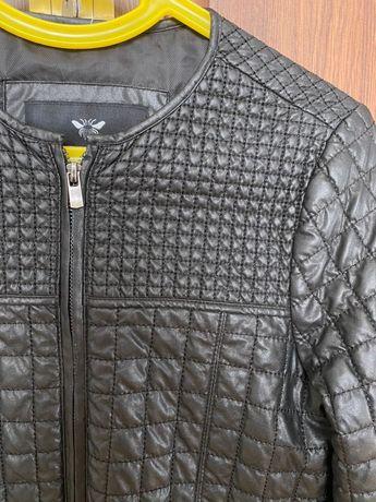 Куртка Zara 164 см косуха шкіра кожа кожанка