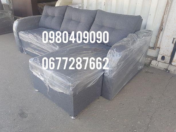 Новый угловой диван еврокнижка