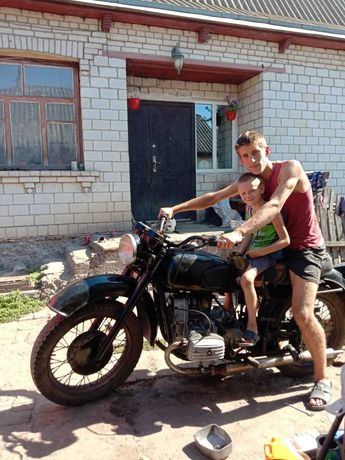 Мотоцикл Мт днепр 11