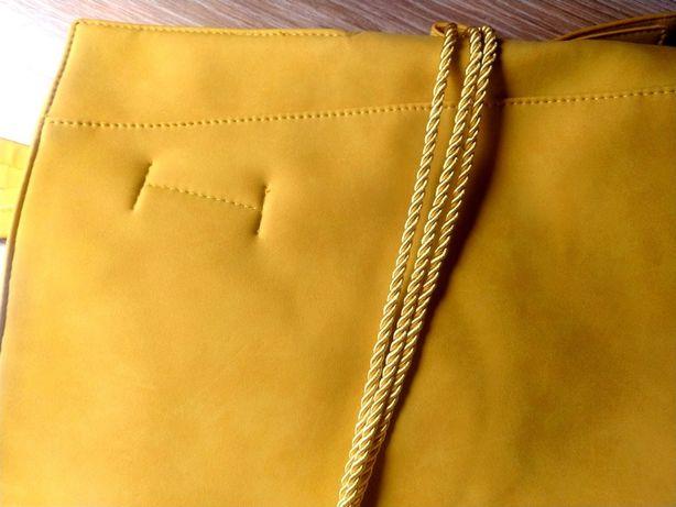 Torba damska żółta