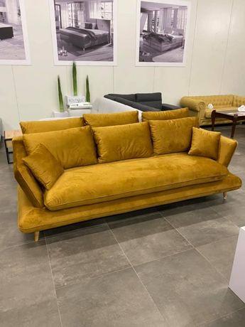 Promocja sofa Monte DL-ka w tkaninie Velvet Monolith