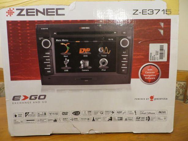 Radio ZENEC Z-E3715 nawigacja DVD USB kamera WAECO