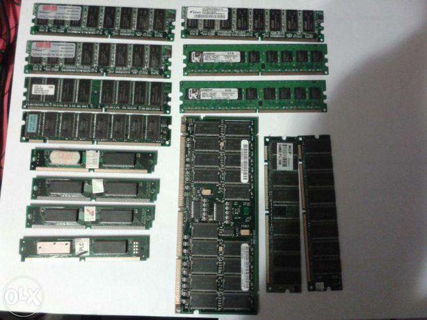 Sprzedam pamięć RAM do komputera różne,SIM,DIMM 14szt!!!